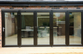 photos and ideas of aluminum exterior bifolding doors design