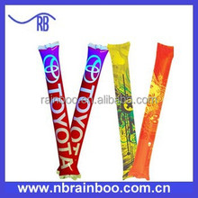 Hot selling Cheap PE printed PASS EN71-1-2-3 inflatable led cheering stick fpr advertising promotion ABMA208