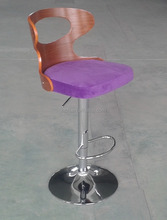 Popular linen fabric and pu covers high quality gas lift bar stool parts