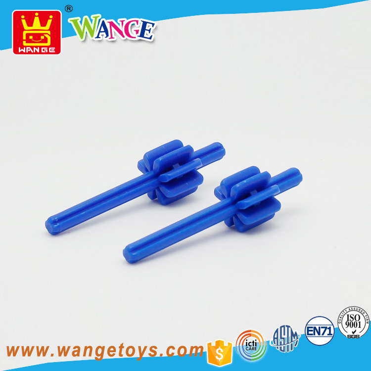 Wange creative idea diy kids interlocking toy building a block for wholesale