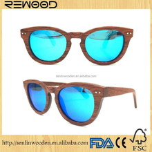 China Alibaba wholesale OEM custom logo fashion gafas de madera cheap brand name sunglasses