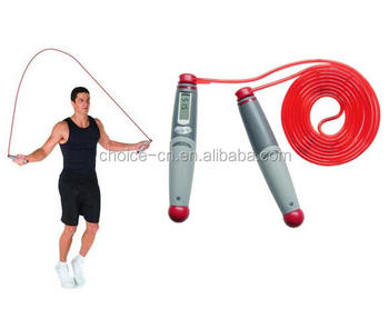 Kids Adjustable Digital Counter Jump Rope, Light Skipping Rope for Women Exercise