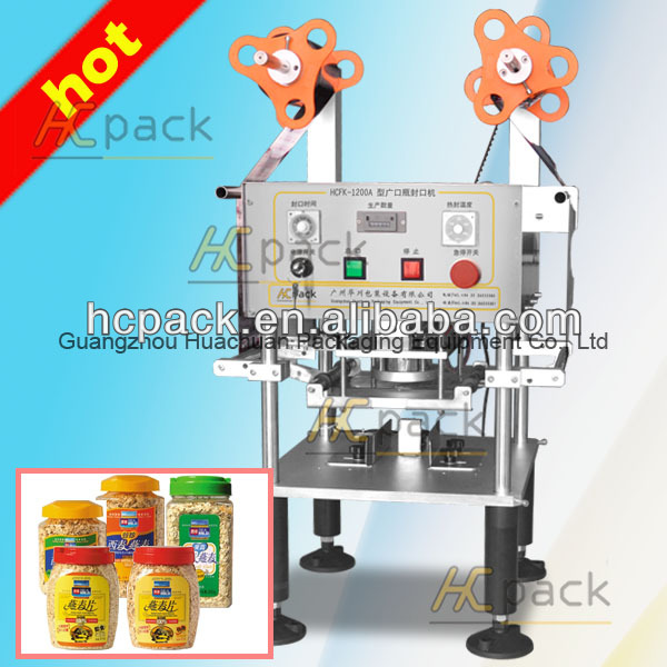 Plastic Cup Sealing Machine,Milk Tea Cup Sealer With High Quality
