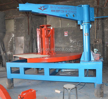 xinyutian machinery OTR truck tire cutter machine /tire strips cutting machine