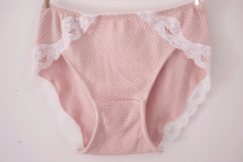 Pink Color soft Woman Underwear Panties Wholesale Price