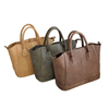 Feminine Genuine Leather Tote Handbags Lady
