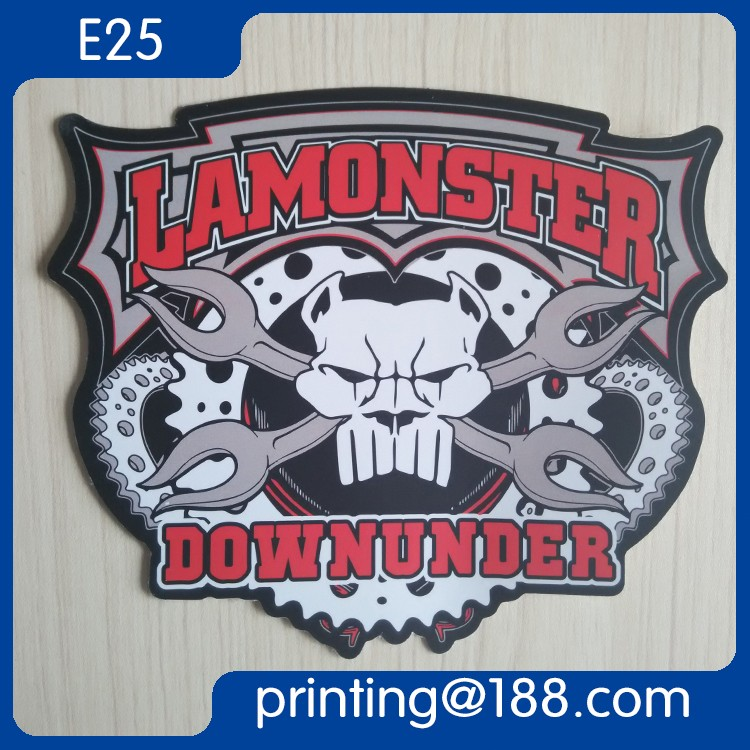 Customized Waterproof Die Cut Adhesive PVC Sticker