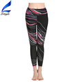 Lotsyle Wholesale Running Tights Womens Printed Yoga Pants with Hidded Pockets