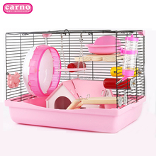 Carno hamster cage large wire mesh cage for small animals hamster cage accessories