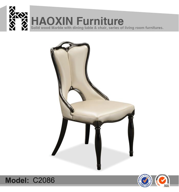 Salida de fábrica nuevo diseño de comedor silla Silla de hotel C2086 ...