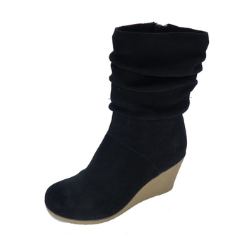 Made in China European style fashion comfortable women wedge boot