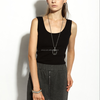 17PKCS123 knitted women cashmere sweater vest