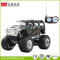 1:43 big wheel hammer remote control car