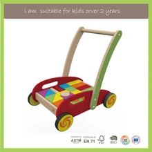 OEM Available Educational Toys Type Wooden Push Up Toys