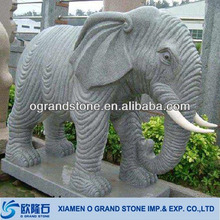 outdoor indian large garden elephant stone statues