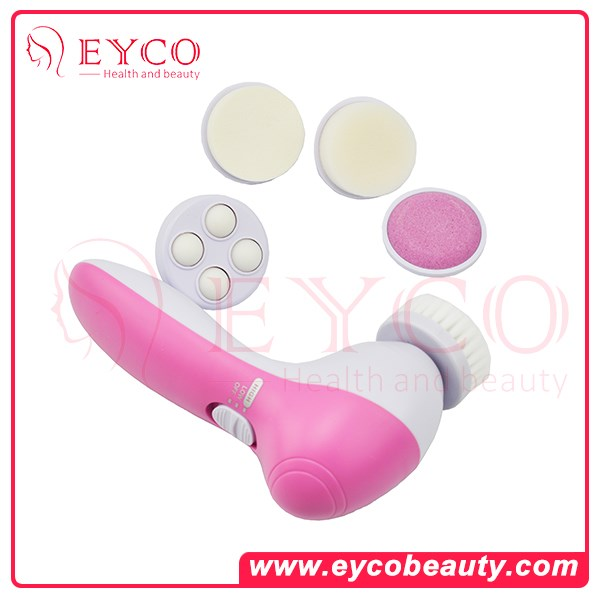 Face Massager Electric Facial Cleansing Brush Rotating Sonic Face Scrubbers Skin Brush