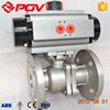 6 inch flanged ball valve pneumatic valve