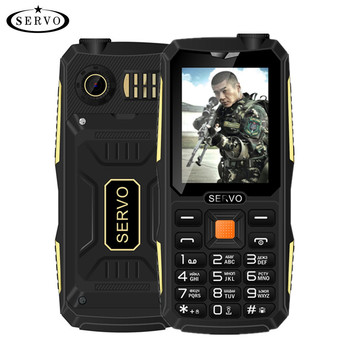 SERVO V3 2.4 inch 4 sim cell phone dust proof shockproof mobile phones