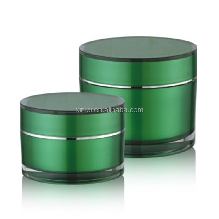 200g beauty industry mask plastic cosmetic jar acrylic container
