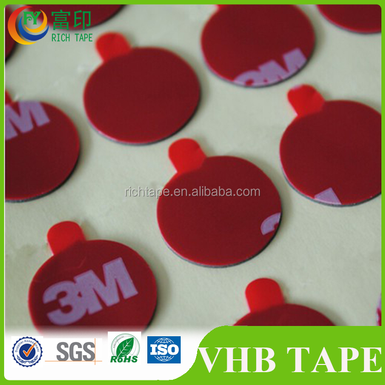 Wholesale Free Sample Double Sided Adhesive Sheet 0.8mm 1.0mm Thickness Bonding Acrylic Tape