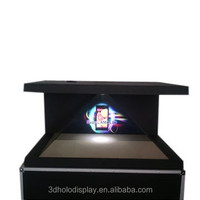 270 degree Hologram unit,3 Sided Hologram Unit for Retail POS Display