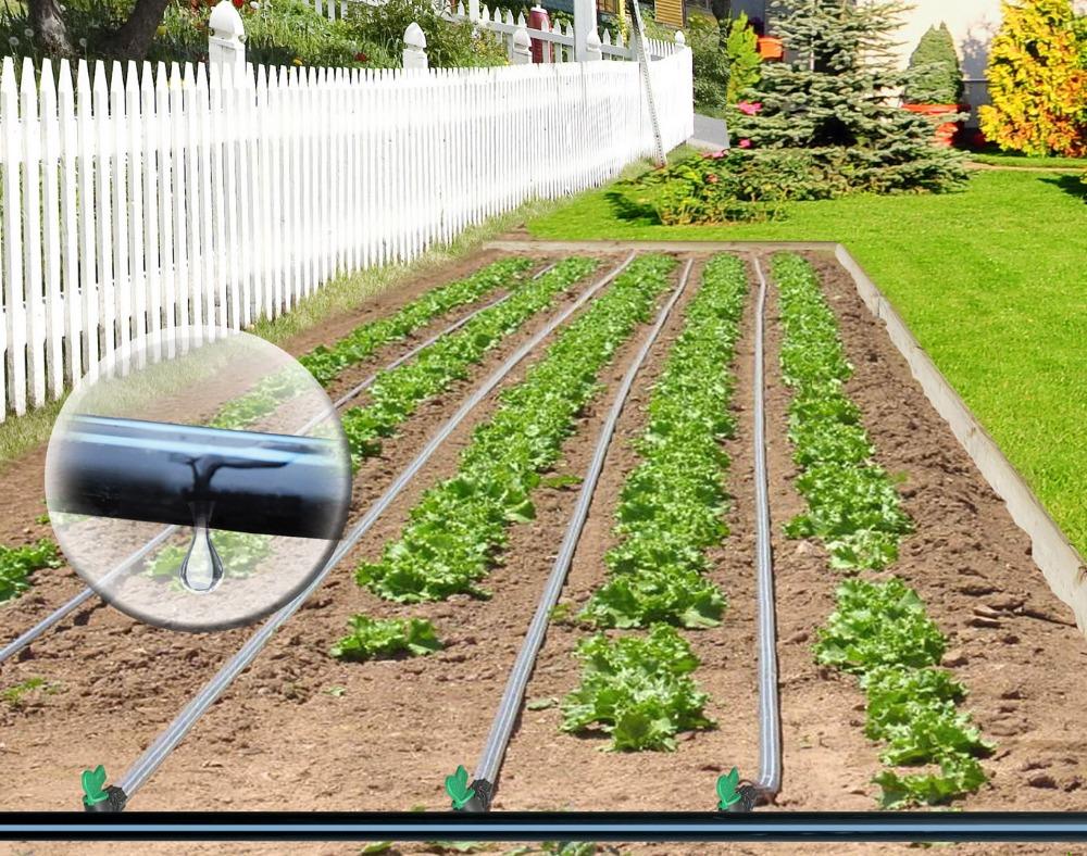 Impianto di irrigazione a goccia per orto free mt tubo ala
