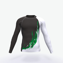 Professionelle individuell bedruckte sublimiert sleeve rash guard