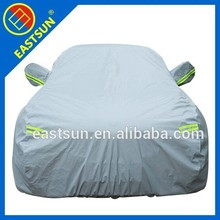 logo printing silver polyester car cover