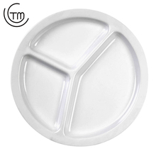 Factory price melamine dish dinner plate compartment Melamine