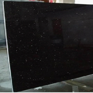 China factory best quality cheap stone absolute black granite and marble slab tile