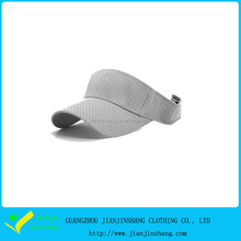 2015 Hot Sale Polyester Mesh 6 Panels Custom Sports Visor