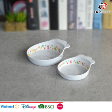 Promotional customized decal printing pet dog feeding bowl
