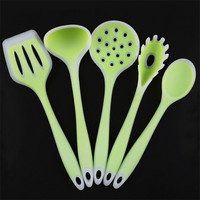 5 Pcs/Set High Quality Kitchen Cooking Utensils Silicone Spatula Set