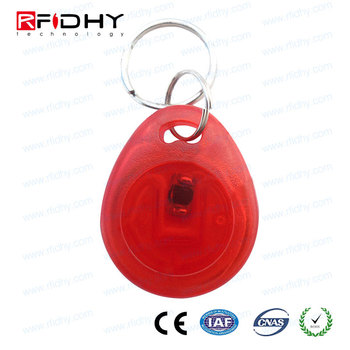 Custom Colorful Print Staff Attendance 13.56MHz RFID Keyfob