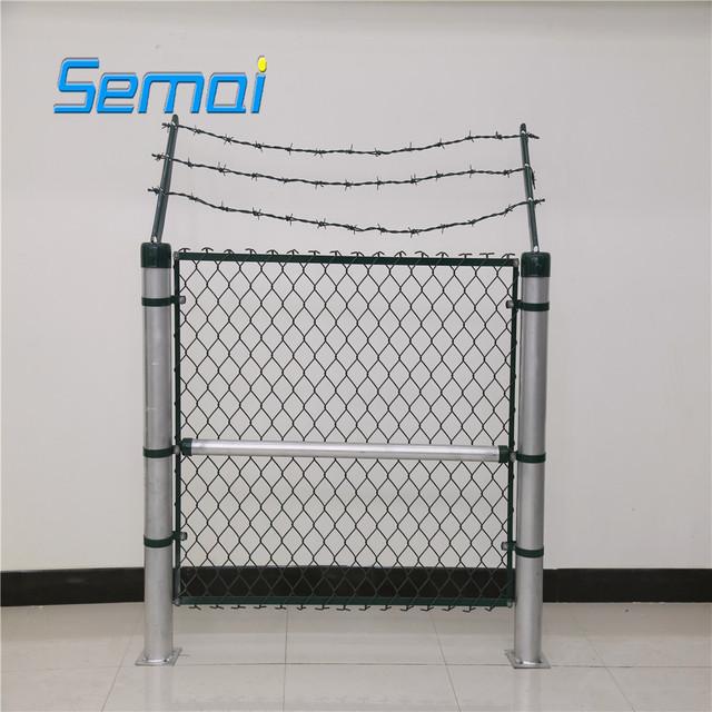 Chain link fence calculator/Galvanized chain link fence mesh/chain link fence brackets