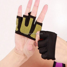 hot selling 2017 Four Finger Breathable Gloves <strong>Weight</strong> Lifting comfortable Palm Hand Protection