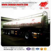 Hot selling!!! overall dimension 11250*2500*3850mm tank for milk transport