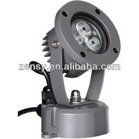 7W led garden light waterproof led light garden spotlights