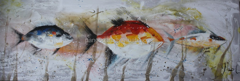 Famous sea animal scenery painting,sea landscape painting