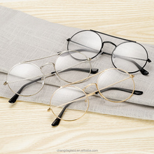 Alloy frame glasses cheaper wholesale round promotion eyewear