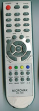 TV REMOTE CONTROL MODEL MICROMAX MM-1800 , FOR YEMEN MARKET, ANHUI FACTORY, TIANCHANG MANUFACTURER