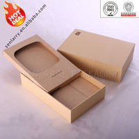 Promotional recycled rigid custom gift paper box wholesale ex factory price!!!