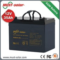 Factory Battery 12v 35Ah 100Ah 150Ah 200Ah 260Ah Deep Cycle Solar Energy Storage Battery