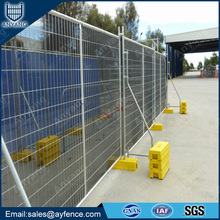 Hot Dipped Galvanized Welded Mesh Temporary Fence Panel for Outdoor Building Site