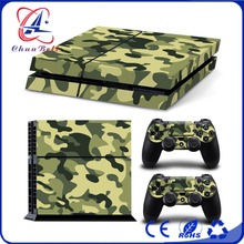 Top Quality Hot Sell for ps4 console controller cheap vinyl skin sticker for playstation 4/ps4 wholesale