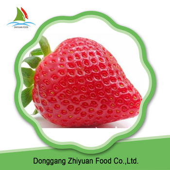 Iqf Frozen Style Fresh Strawberry
