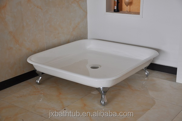 High Quality Freestanding Cast Iron Shower Trays For Sale