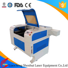 Shenhui laser wood burning machine with co2 laser
