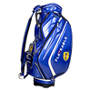 Playealge brand custom disc golf bag With 100% Slap-up PU leather and Crystal PU golf stand bag