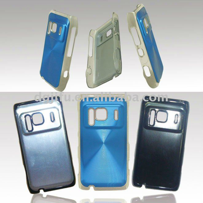 hard style CD and Line Grain case/cover fits for Nokia N8